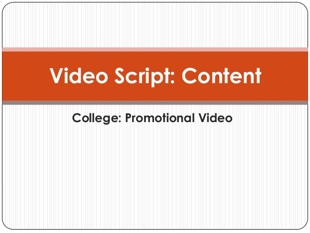 college promotinal video gurgaon