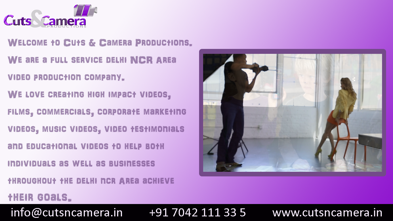 full service video production service company gurgaon delhi