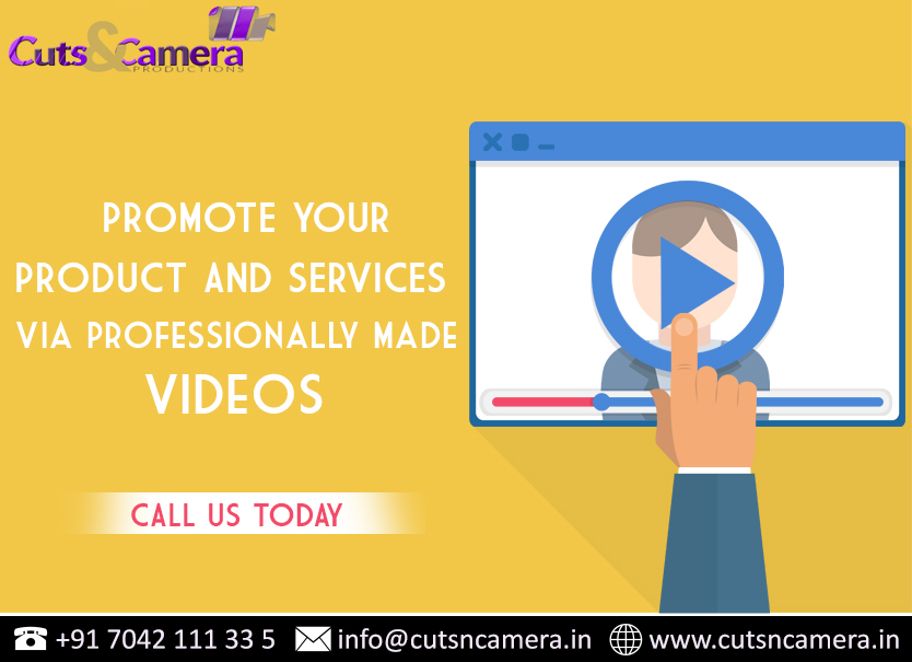 Promote Your Product & Services Via Professionally Made Videos. Call Us Today