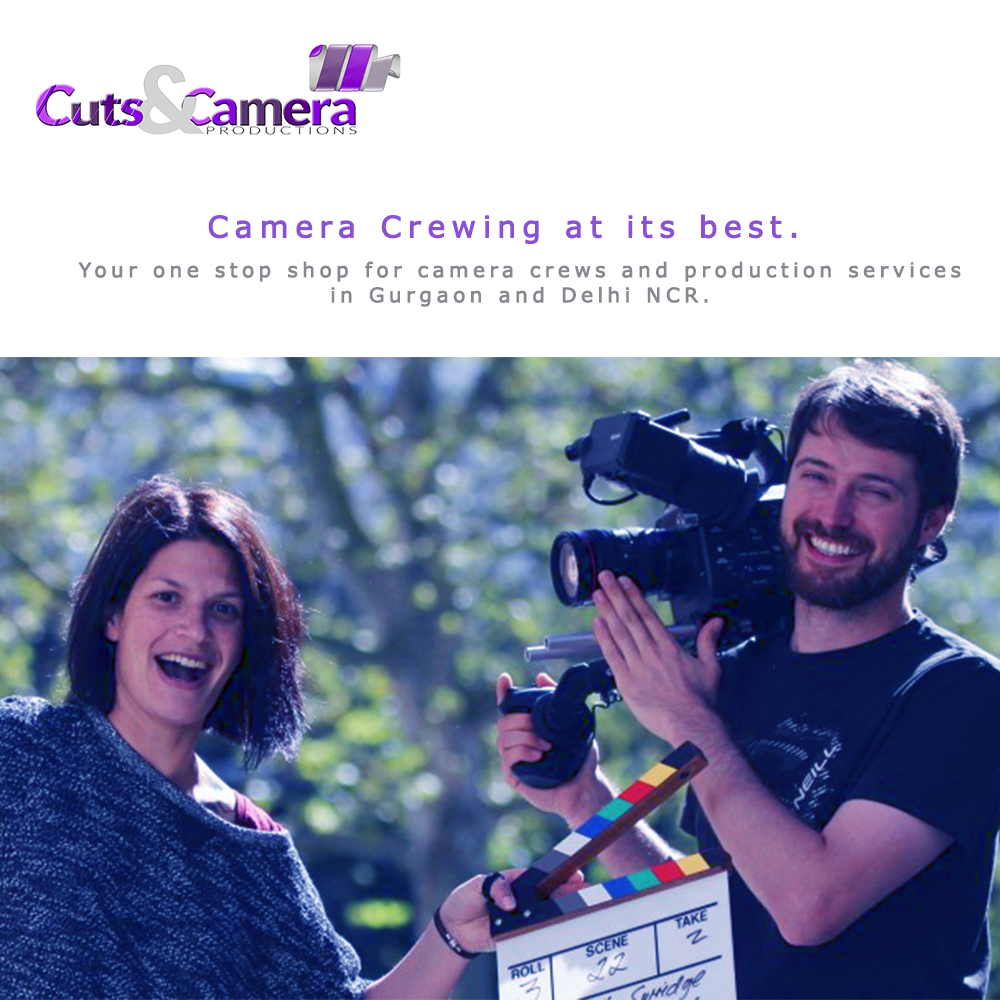 camer crewing services video production noida