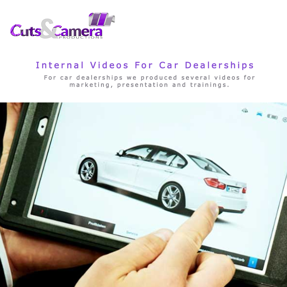 video production for car dealerships showrooms dealers bike