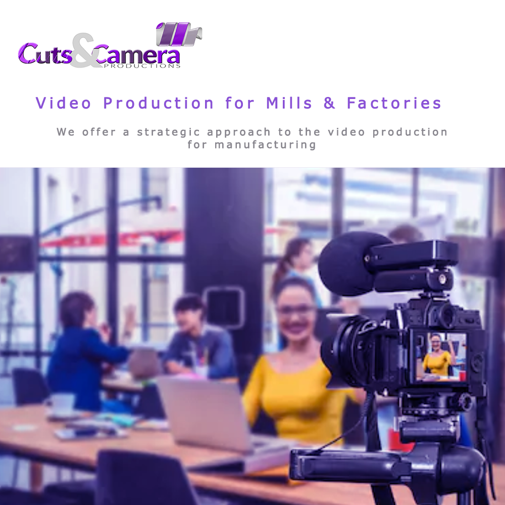 mills paper manufacturing factory video photo shoot editing services kashipur