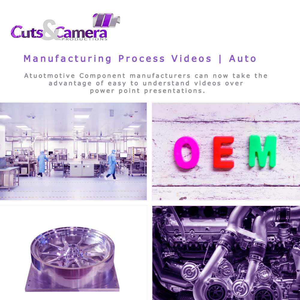 video film corporate editing services for automobile component manufacturers
