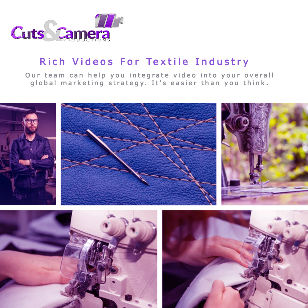 video production services for textile industry manufacturing in mathura